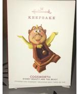 2018 Hallmark Keepsake Cogsworth Beauty & The Beast Limited Edition Orna... - $23.99