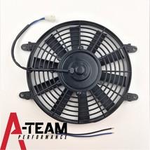 "A-Team Performance 10"" Electric Reversible Radiator Cooling Fan 12V 850CFM image 3"