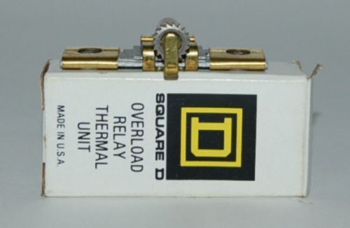 Square D B17 5 Overload Relay Thermal Unit Made USA