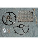 1879 Light Running New Home VS Treadle Pedal & Drive Wheel w/Cover From ... - $50.00