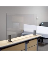 "Offex Antimicrobial Desk, Table Sneeze Guard Acrylic Panel - 48""W x 24""H... - $166.99"