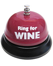 RING FOR WINE TABLE BELL PARTY GIFTS - $12.37
