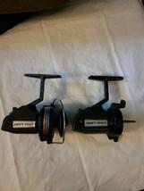 2 Vintage Swift 660 F Fishing Spinning Reels Pair Parts Repair