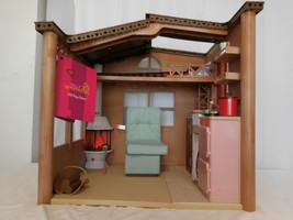 """Our Generation Cozy Cabin Dollhouse Playlet With Electronics For 18"""" Dolls Works - $97.05"""