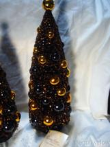 Bethany Lowe Magic Halloween Glitter Bottle Brush Trees image 2