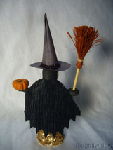 Vintage Inspired Spun Cotton Halloween Witch Girl no. HW19  image 2
