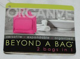 GANZ Brand Beyond a Bag BB227 Seasme Color Toiletry Notebook Hanging Organizer image 10