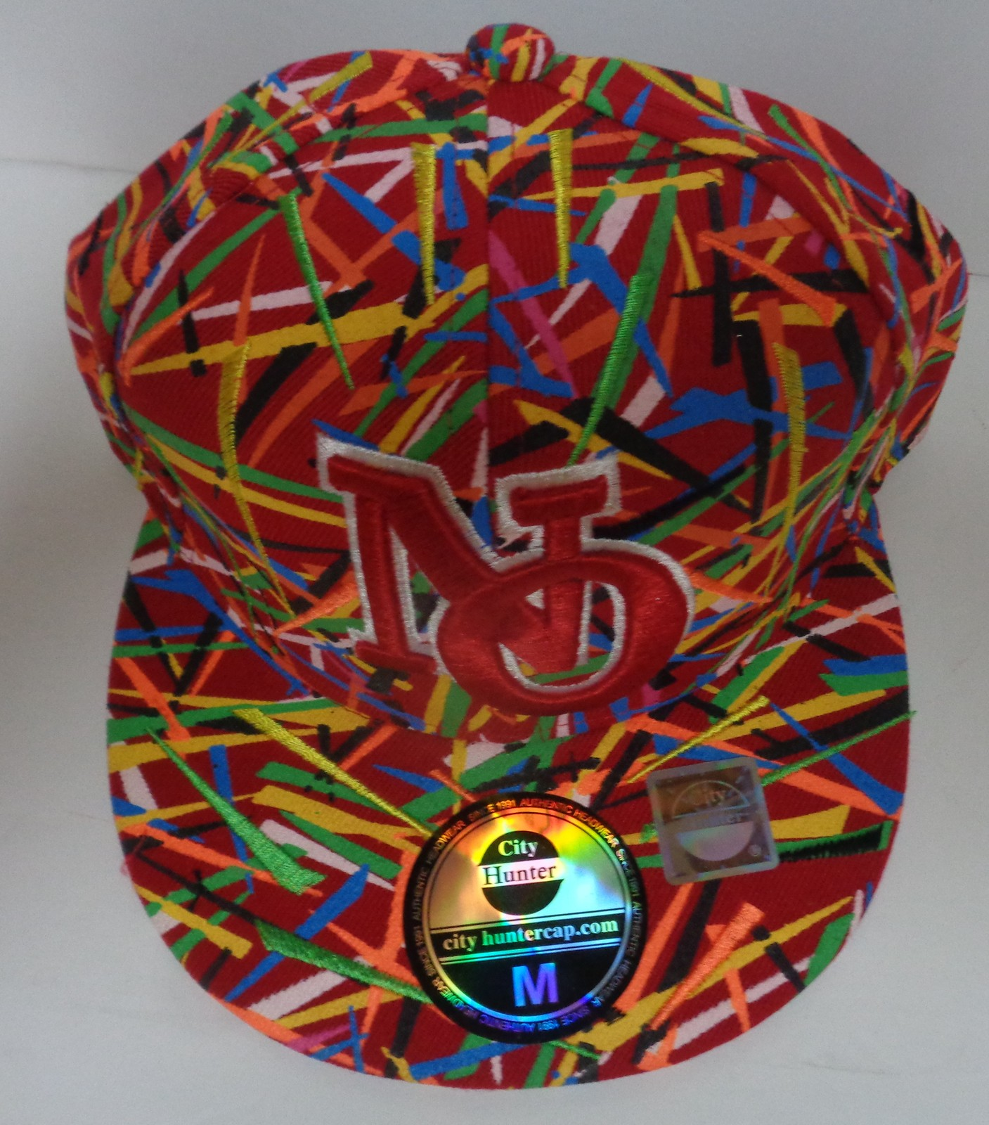 New Orleans Baseball Cap City Hunter Multi-Color Size Medium NWT