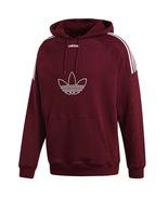 New Adidas 2019 Men Maroon Hoodie Sweater logo man sports Jacket Trefoil... - $99.99+