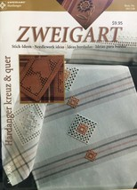 Zweigart's Needlework Ideas Booklet #158 Hardanger Pillows Table Toppers NEW - $9.45
