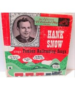 Hank Snow Sings Famous Railroading Songs EPA 310 RCA Victor 45 Extended ... - $13.99