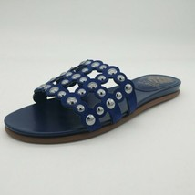 Vince Camuto Womens Ellanna Moody Blues Slide Sandals Sz 7.5W NEW - $41.08