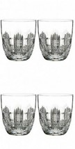 Waterford Crystal Dungarvan Double Old Fashioned Pair Two Pairs 4 Glasses New - $185.13