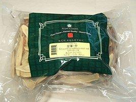 Licorice Root, medium slices / Gan Cao / Glycyrrhiza Uralensis - Bulk Herb 1.1lb - $32.66
