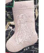 Dimensions Snowflake Dreams Angel Elegant Christmas Crewel Stocking Kit ... - $142.95