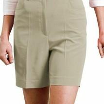 Women's Monterey Bay Pleated Khaki Shorts Size 8 - $5.00