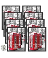 24x36 Poster Frames 8 Pack Black Picture Photo Frame Set Wall Decor for ... - $136.99+