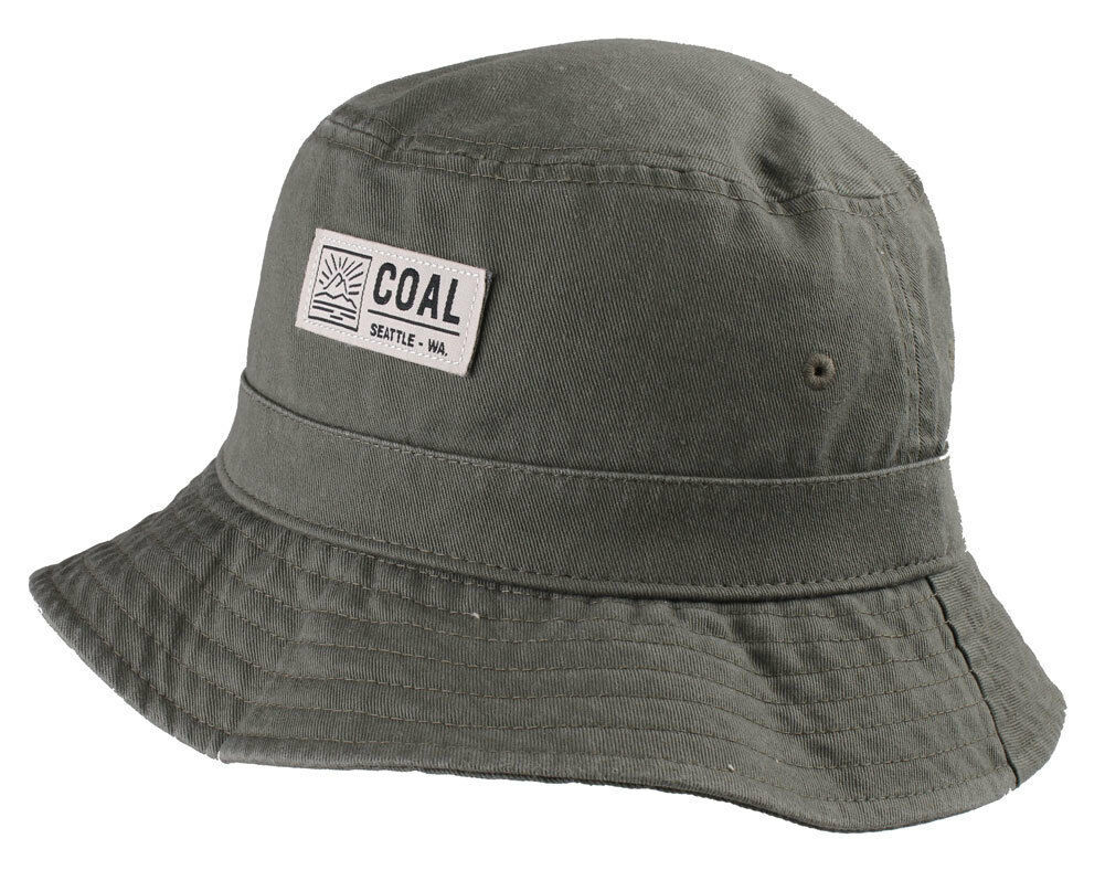 Coal Sombreros Hombre Verde Oliva O Caqui The Ernie Cubo Mediano Grande Nwt