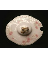 Antique Haviland Limoges France Small Covered Bowl Lid (ONLY) Pink Cornf... - $19.79