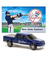 NEW YORK YANKEES DIECAST TRUCK FORD F-150 PICK-UP 1:87 SCALE W/STICKER 2... - $5.98