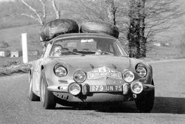 1968 Alpine A110 at Monte Carlo Rally - Promotional Race Poster - $9.99+