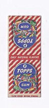 TOPPS GUM Matchbook Cover 1930s - $3.00