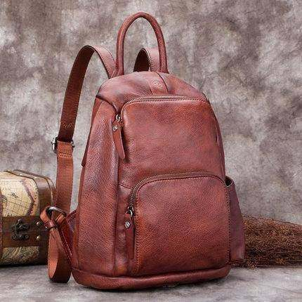 Sale, Fashion Full Grain Leather Messenger Bag, Shoulder Bag, Satchel Bag, Leath image 6