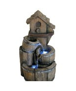 16 in Birdhouse Fountain w/ LED Lights - $199.00