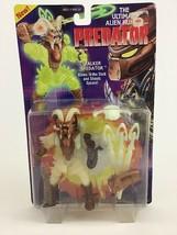 Stalker Predator Ultimate Alien Hunter Figure Kenner New Glows Dark Vint... - $29.35