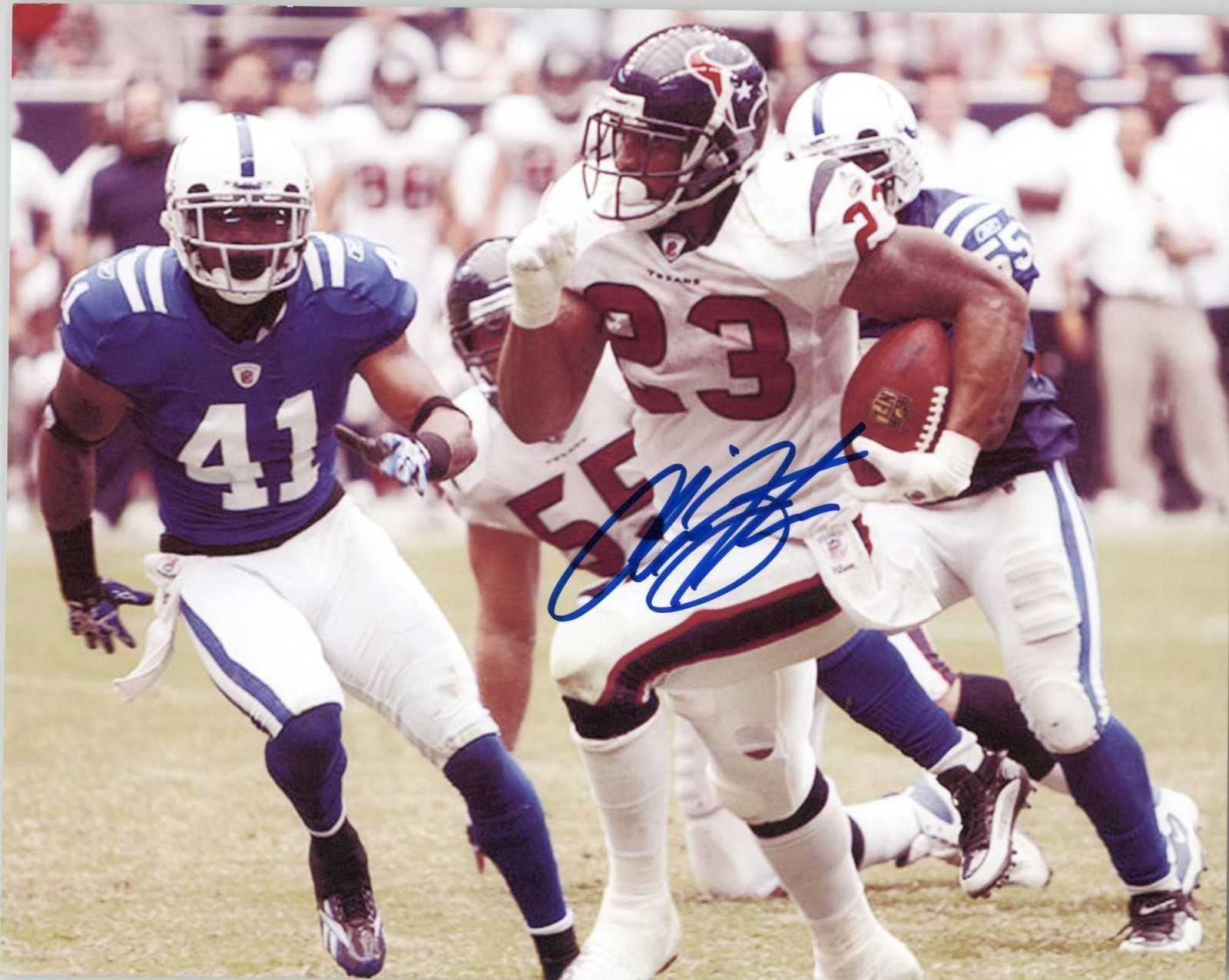 Primary image for Arian Foster Signed Autographed Glossy 8x10 Photo - Houston Texans