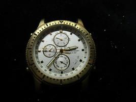 Citizen vintage alarm 24hr dial chronograph watch for repair March 1993 - $105.70