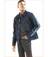 new Levi's men jean jacket Made & Crafted 289430016 navy blue sz M MSRP ... - $69.29
