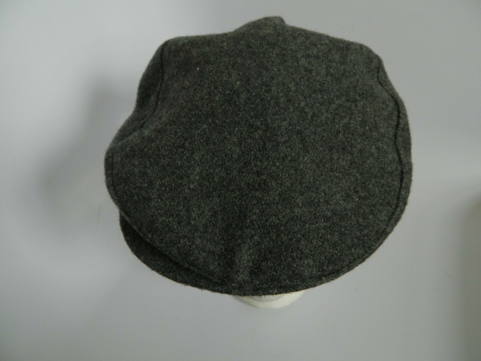 Kenneth Michael Wool Blend Gray Cabbie Hat Size M Made in USA - $24.99