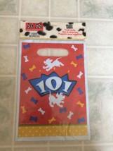 Disney 101 Dalmation 8 Treat Party Favor Sacks Bags Hallmark Party New in Pkg - $8.59