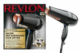 Revlon Pro Collection Salon 360 Surround AC Dryer Hair 1800 W Dua l60% More - $297.06