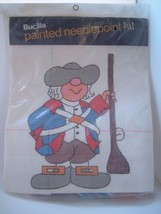 Vintage Bucilla Painted Needlepoint  Kit No. 4692 New in Package - $12.95