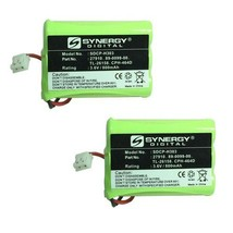 AT&T-Lucent 27910 Cordless Phone Battery Combo-Pack includes: 2 x SDCP-H... - $16.46
