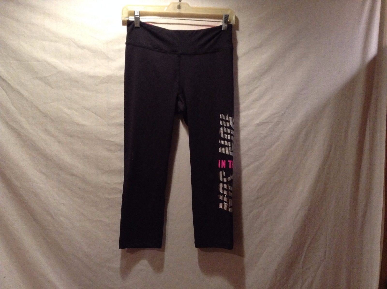 Live Love Dream Stretchy Work Out Pants Sz M