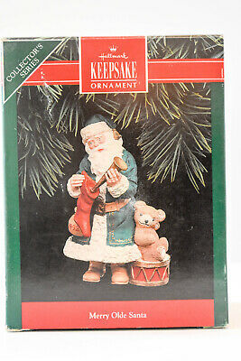 Primary image for Hallmark  Merry Olde Santa - Series 3rd 1992   Keepsake Ornament
