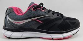 LA Gear Honey Women's Running Shoes Size US 8 M (B) EU 40 Black Gray Pink