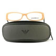 Emporio Armani EA3007 Eyeglasses 5087 Opal Beige Full Rim Plastic 53 16 140 - $57.00