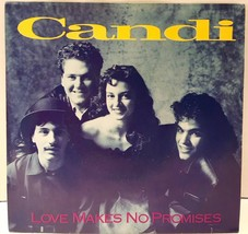 "Candi Love Makes No Promises 45 Vinyl Record 7"" Record Picture Sleeve Ca... - $13.85"