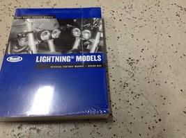 2005 Buell Lightning Models Service Shop Repair Manual Set W Parts Catal... - $197.99