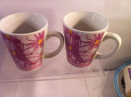 (2) BREAST CANCER COFFEE MUGS / CUPS---HELP FOR TODAY..HOPE FOR TOMORROW... - $17.96