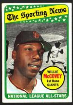 1969 Topps #416 Willie McCovey All Star HOF Giants Ex - $4.50