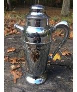 """WINE CHILLING CARAFE/HOLDER /SERVER Silver-Plated Approx 12"""" tall - $49.49"""