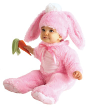 Precious Pink Wabbit Bunny Infant Costume Clothes Size 6 months to 12 mo... - $34.50