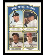 2021 Topps Heritage #88 Luke Voit/Jose Ramirez/Mike Trout/Jose Abreu NM-... - $0.99