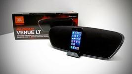 JBL  OnBeat Venue LT Bluetooth Wireless Speaker with Lightning Dock - BLACK - $395.30 CAD
