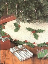 Christmas Tree Skirt Cavendish Crochet PATTERN/INSTRUCTIONS Leaflet NEW - $0.90